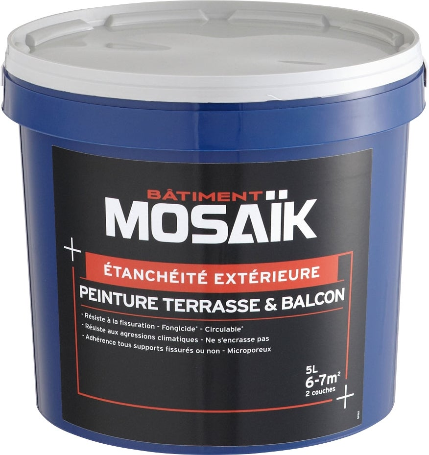Peinture d 39 tanch it ext rieure 5 l bricoman for Etancheite terrasse exterieure carrelee