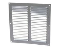 GRILLE CARREE ALU ANODISE GRIS 250 x 250 MM 1LM2525 GNICOLL