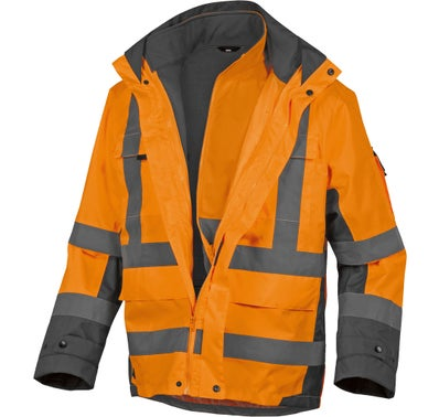 PARKA TARMAC ORANGE FLUO L 1