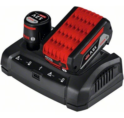 CHARGEUR MULTI VOLTAGES GAX 18V BOSCH PRO 2
