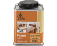 Vernis bois satin incolore 250 ml