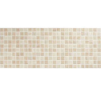 Décor 20 x 50 cm TRAVERTINO MOSAICO Beige