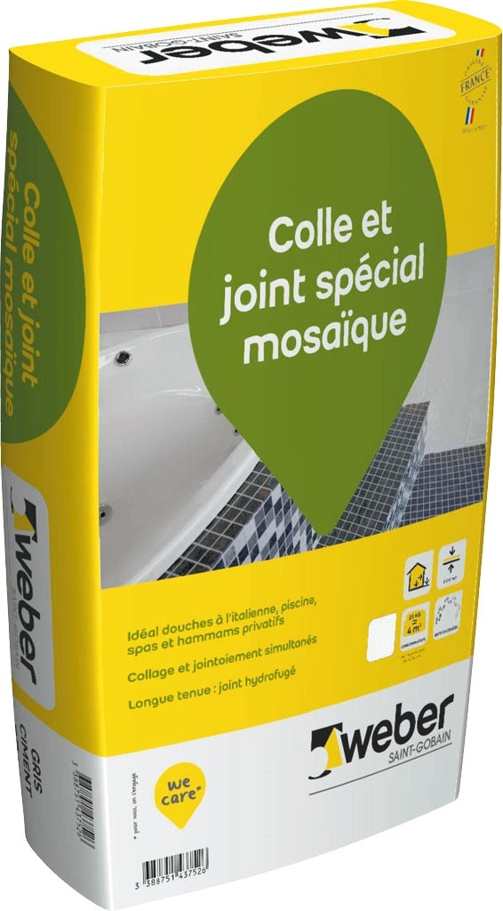 Colle carrelage hydrofuge interesting colle joker pour for Carrelage qui colle