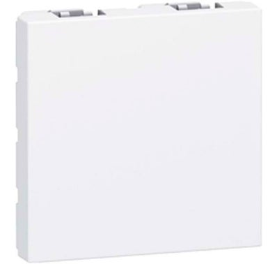 OBTURATEUR 2 MODULES MOSAIC BLANC LEGRAND
