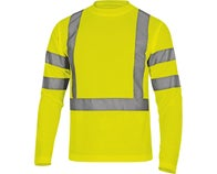 TEE SHIRT HV ML STAR JAUNE T M