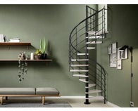 escalier sapin quart tournant bas gauche rampe fuseaux et. Black Bedroom Furniture Sets. Home Design Ideas