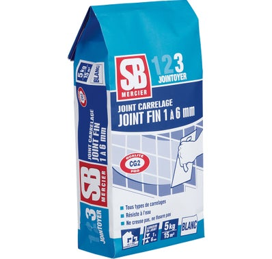 Joint fin blanc 5 kg