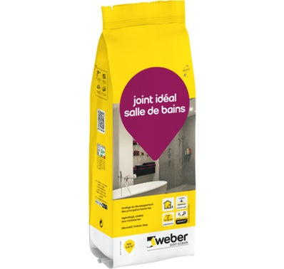 JOINT IDEAL SDB BLANC PUR 2KG W