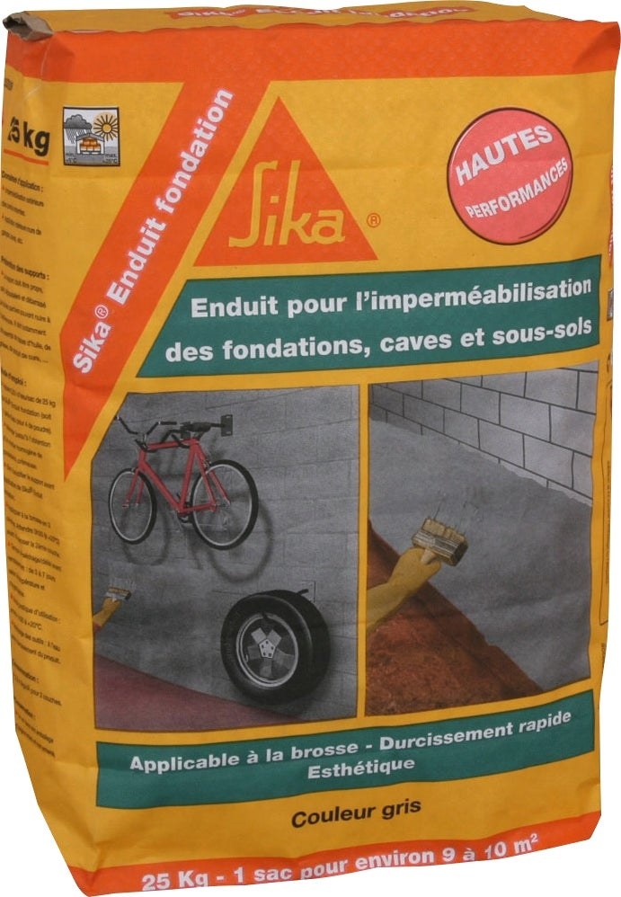 Sika cuvelage interesting sika cuvelage with sika for Enduit piscine sika