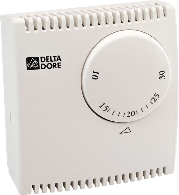 Thermostat d 39 ambiance filaire tybox 10 bricoman - Thermostat d ambiance filaire ...