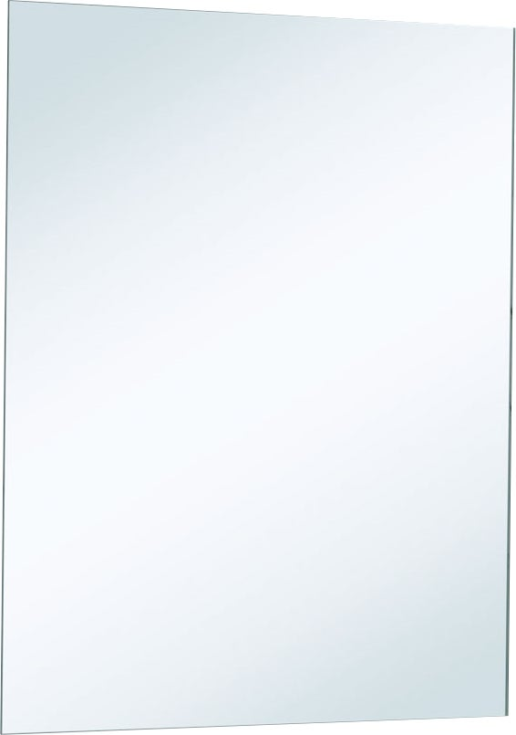 Miroir bords polis 75 x 60 cm p 4 mm bricoman for Miroir 50 x 60