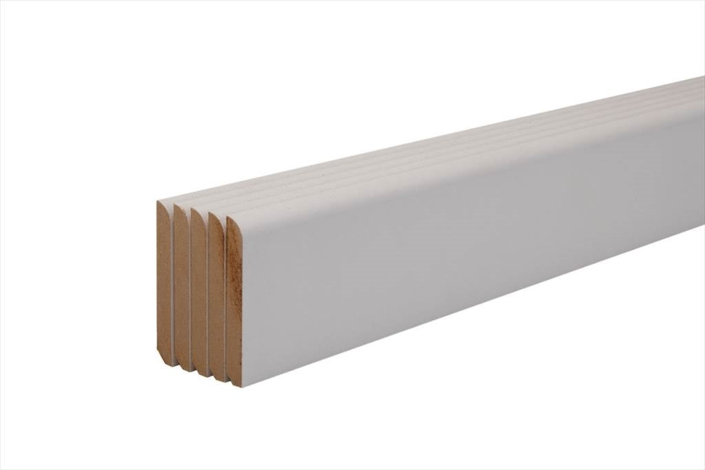 Lot De 5 Plinthes Mdf* Pré-Peint Blanc | Bricoman