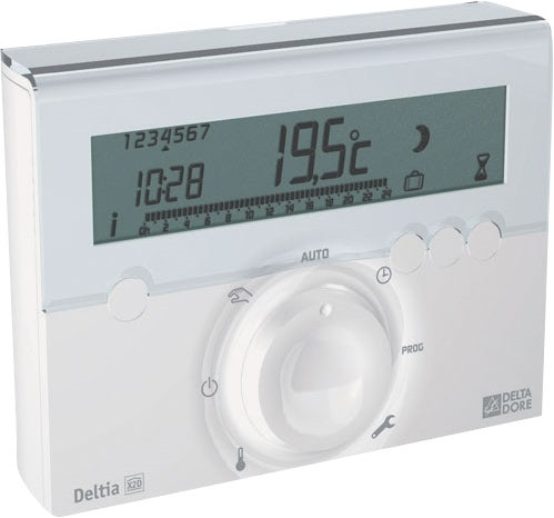 Thermostat programmable sans fil deltia bricoman - Thermostat programmable sans fil ...