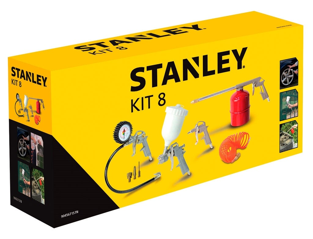6773a4ba76dffa KIT 8 PIECES OUTILS PNEUMATIQUE STANLEY   Bricoman