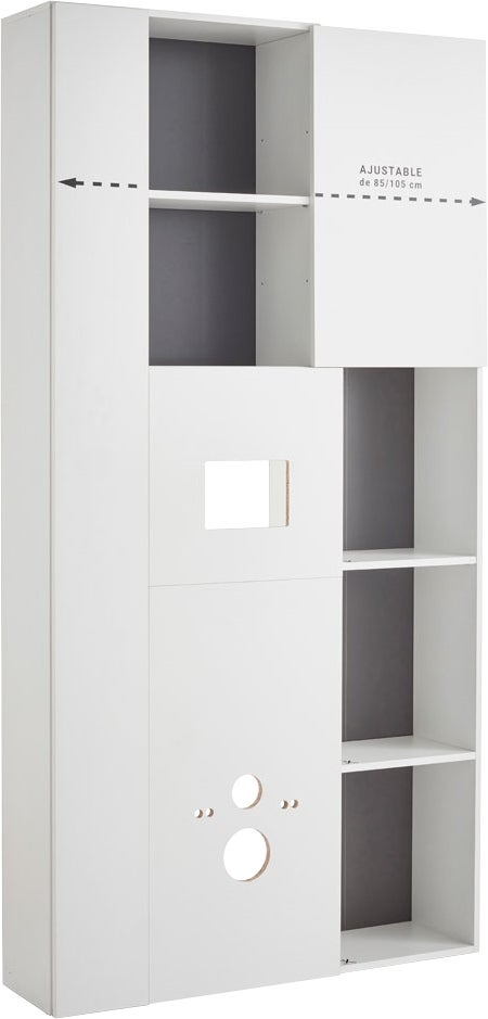habillage wc fizz bricoman. Black Bedroom Furniture Sets. Home Design Ideas