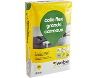 Colle flex grands carreaux C2S1ET Gris 25 kg