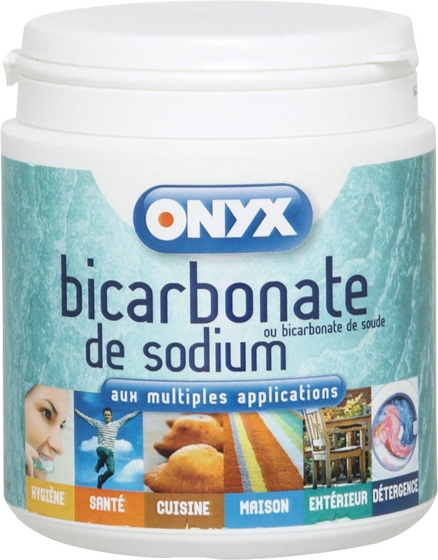 Bicarbonate de sodium 500 grammes bricoman for Bicarbonate de soude comme desherbant