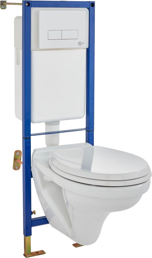 Pack wc suspendu astor bricoman - Pack toilette suspendu ...