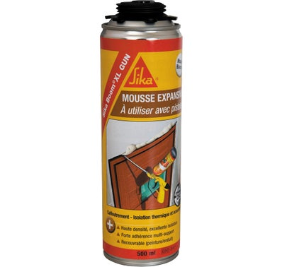 MOUSSE PU SIKA 500ML PISTOLABLE MULTI