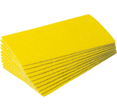 Lot de 20 papier abrasifs 73 x 123 mm.