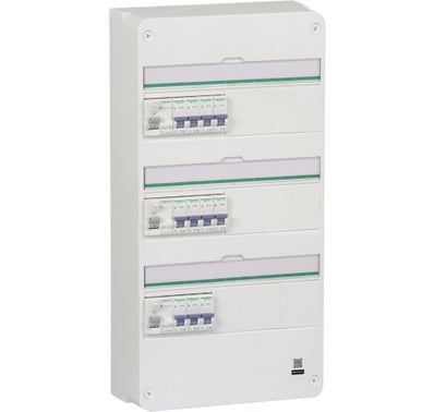 TABLEAU PRE-CABLE 3 RANGEES SCHNEIDER ELECTRIC 1
