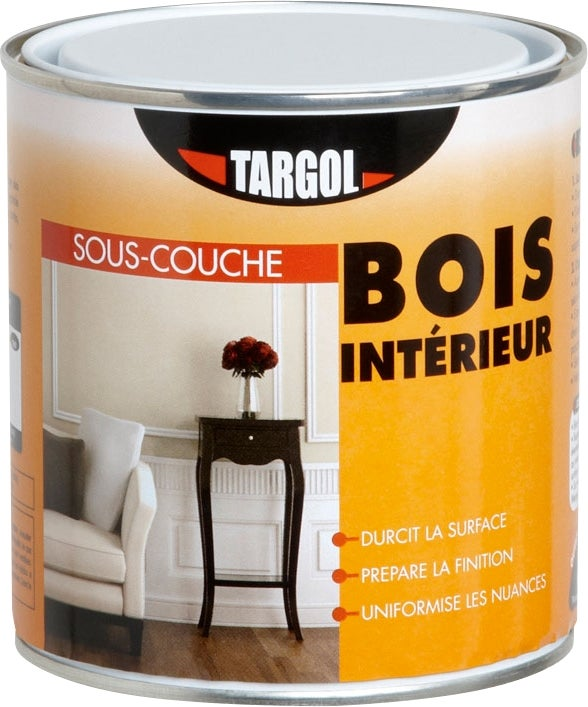 targol sous couche bois int rieur 0 5 l bricoman. Black Bedroom Furniture Sets. Home Design Ideas