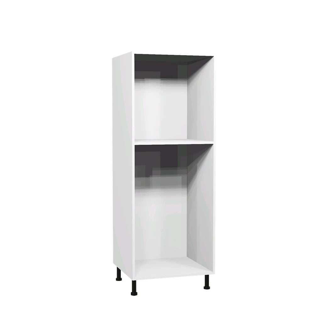 caisson demi colonne 60 x 153 6 cm blanc bricoman. Black Bedroom Furniture Sets. Home Design Ideas