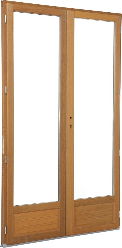 2 vantaux great porte fentre bois vantaux hxlcm with 2 - Porte oscillo battant ...