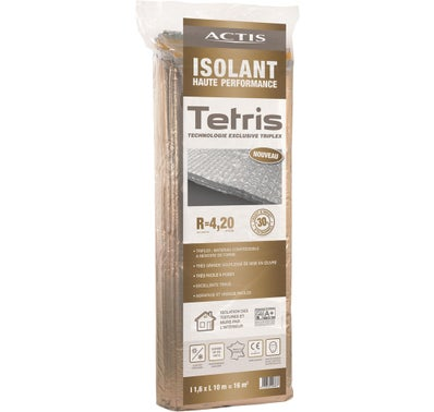 ISOLANT MINCE REFLECTEUR TETRIS R=4.2 Ep. 50 mm 1