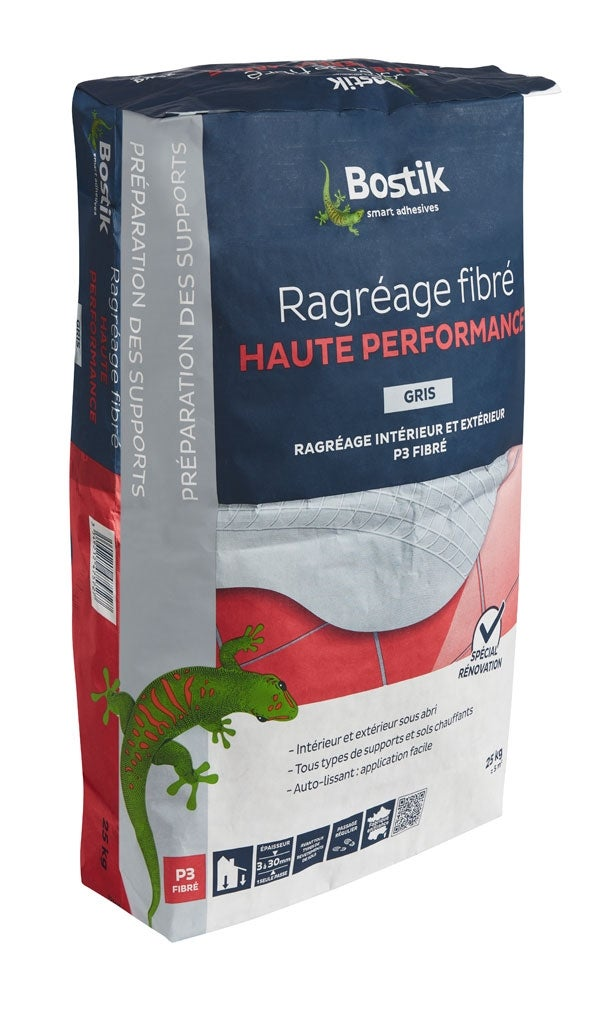 Ragreage Haute Performance P Fibr Kg  Bricoman