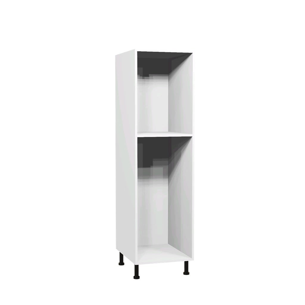 caisson demi colonne 45 x 153 6 cm blanc bricoman. Black Bedroom Furniture Sets. Home Design Ideas
