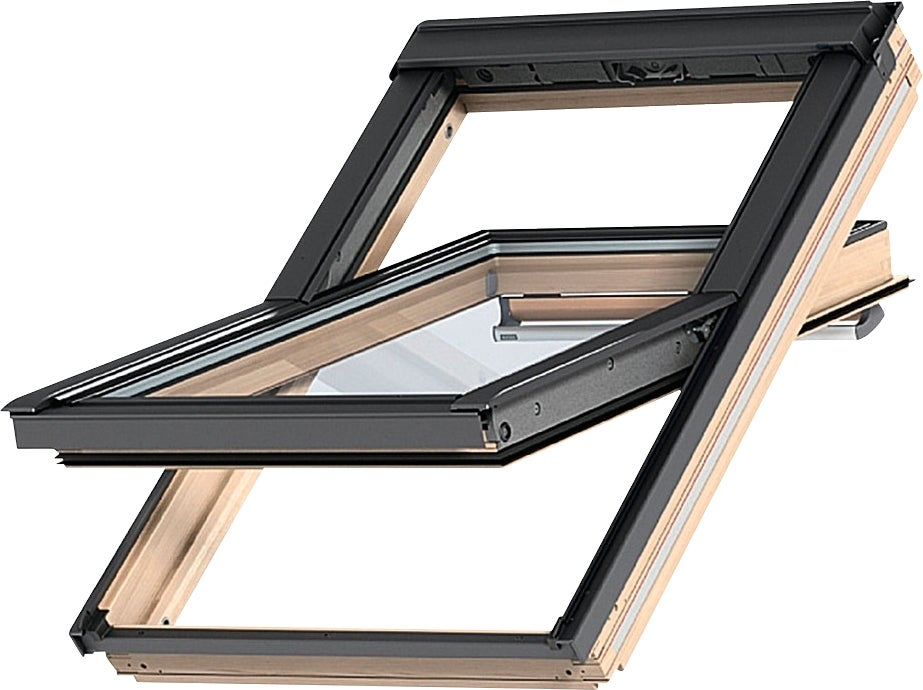 fen tre de toit velux standard ggl ck02 l55xh78cm bricoman. Black Bedroom Furniture Sets. Home Design Ideas