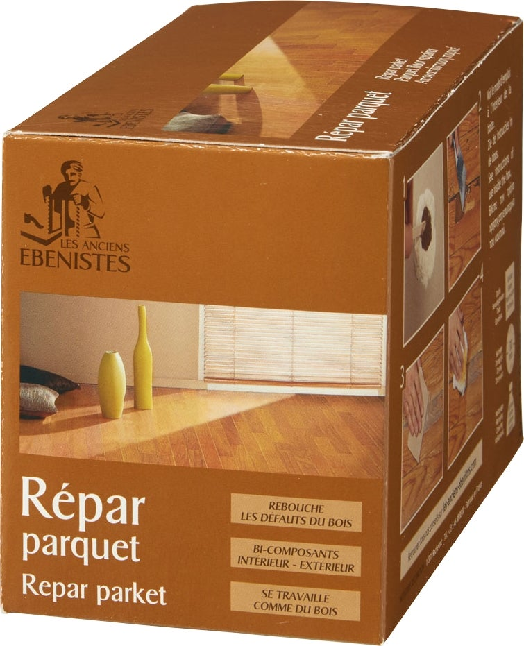 kit de r paration parquet 500 ml 150g bricoman. Black Bedroom Furniture Sets. Home Design Ideas