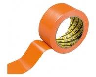 3 ROULEAUX ADHESIFS PVC ORANGE  33M X 50 MM