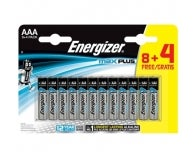 LOT 8+4 PILES AAA MAX + ENERGIZER