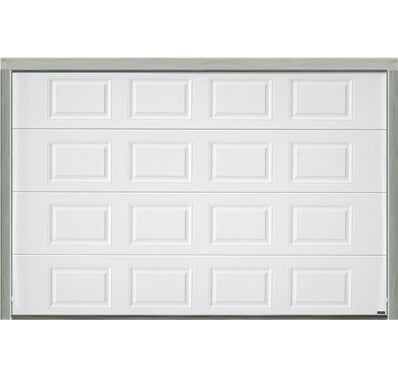 Porte de garage sectionnelle motoris e blanche h200xl300 for Porte sectionnelle garage 3m