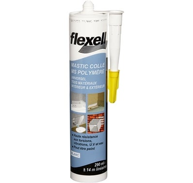 Mastic colle MS Polymère Flexell 290 ml
